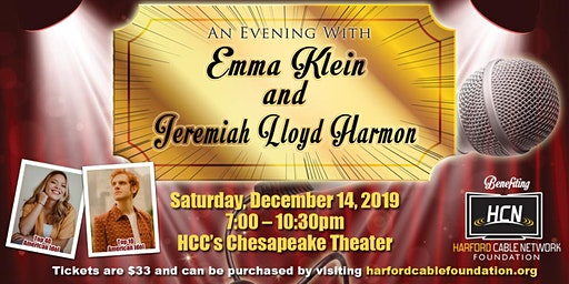 An Evening with Emma Klein & Jeremiah Lloyd Harmon