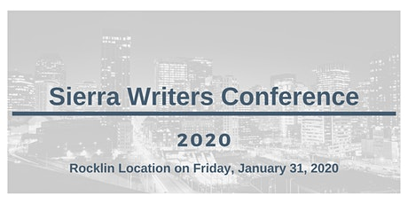 Sierra Writers Conference 2020 tickets