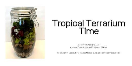 Tropical Terrarium Time
