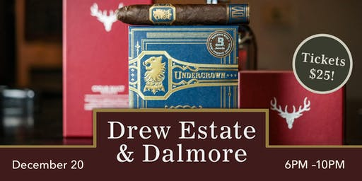 KARMA CHRISTMAS EVENT || DREW ESTATE + DALMORE
