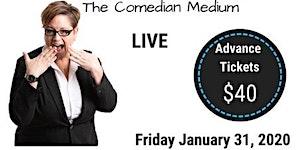 Jennie Ogilvie - The Comedian Medium, LIVE in...