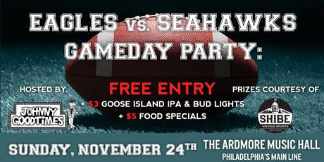 **Canceled** Eagles vs Seahawks Party tickets