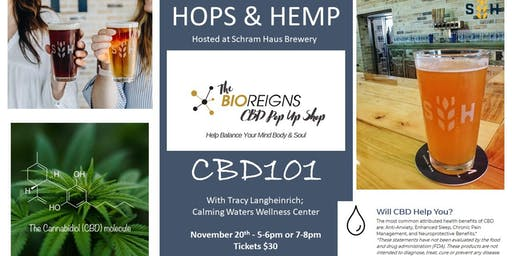HOPS & HEMP at Schram Haus Brewery Nov. 20th