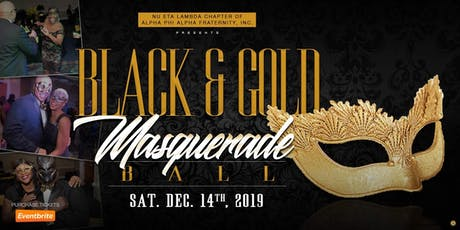 Black & Gold Masquerade Ball tickets