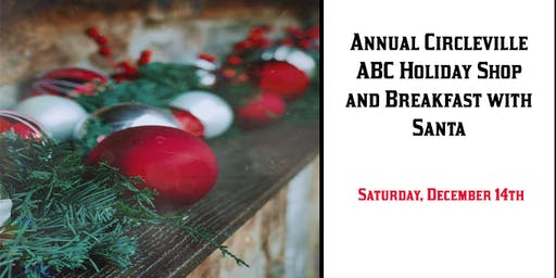 Circleville ABC Parent Club Holiday Shop and Breakfast
