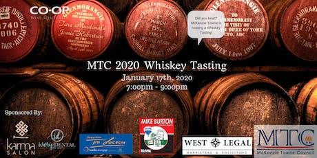 MTC Whiskey Tasting tickets