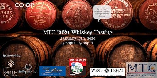 MTC Whiskey Tasting