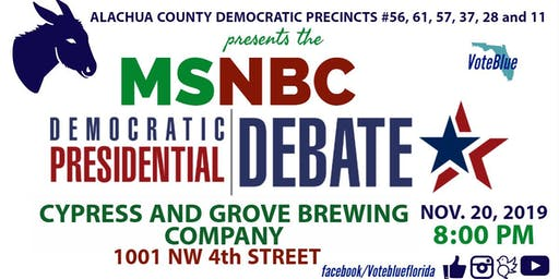 The ACD Precinct #56 MSNBC/Washington Post Democratic Debate Watch Party