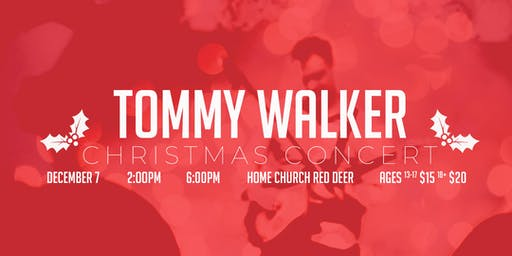 Christmas Concert with recording artist Tommy Walker