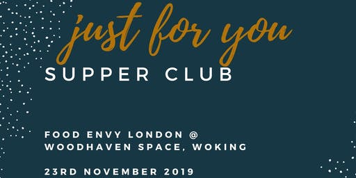 Autumn Supper Club 23rd November 2019