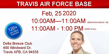 Travis AFB Veteran Job Fair - Feb 2020 tickets