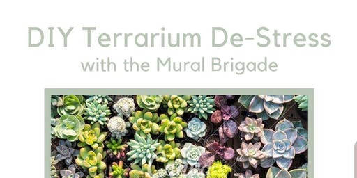 Paint and De-Stress (DIY Terrariums and De-Stress)