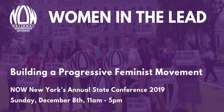 Women in the Lead - NOW-NY's Annual State Conference 2019 tickets
