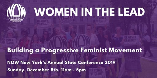 Women in the Lead - NOW-NY's Annual State Conference 2019