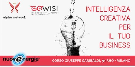 Intelligenza creativa per il tuo business tickets
