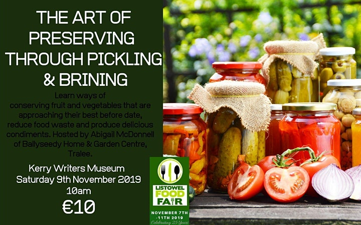 The Art of Preserving through Pickling & Brining image
