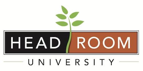 HeadRoom University tickets