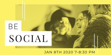 """BE """"Social"""" Connect Offline Event tickets"""