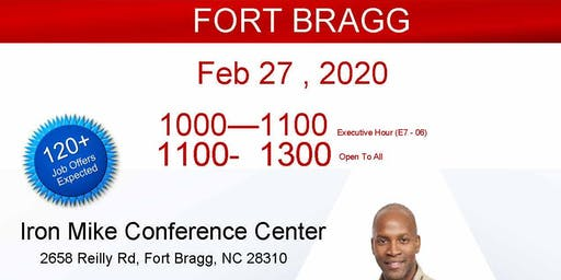 Fort Bragg Veteran Job Fair - Feb 2020