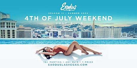 Exodus Festival Las Vegas / Season 11 - 4th Of July Weekend  tickets