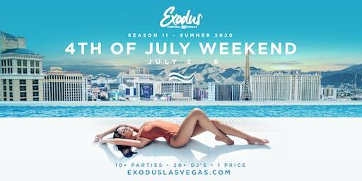 Exodus Festival Las Vegas / Season 11 - 4th Of July Weekend