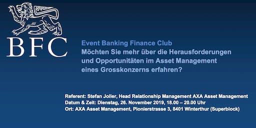 Event Banking Finance Club ZHAW SML