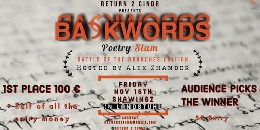 BACKWORDS Poetry Slam