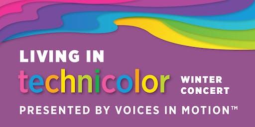 Living In Technicolour. Winter Concert. Dec 15th. Gordon Head Recreation Centre Auditorium