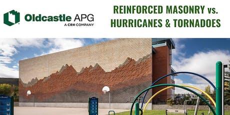 Reinforced Masonry vs. Hurricanes & Tornadoes - AIA CEU Course @ MIA tickets