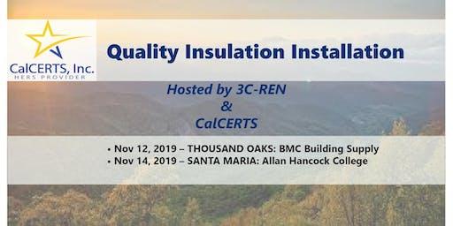 3C-REN - Technical Series: Quality Insulation Installation
