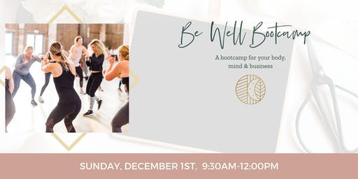 Be Well Bootcamp