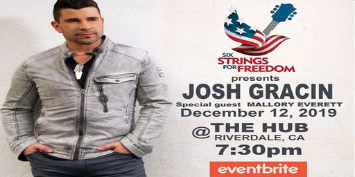 Josh Gracin Unplugged @ The Hub with special guest Mallory Everett