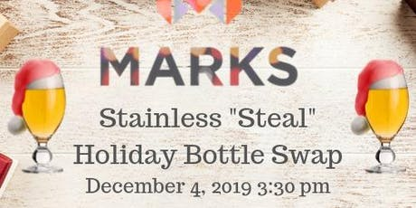 """Brewers Exclusive- Stainless """"Steal"""" Holiday Social tickets"""