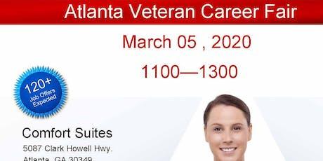 Atlanta Veteran Job Fair - March 2020 tickets