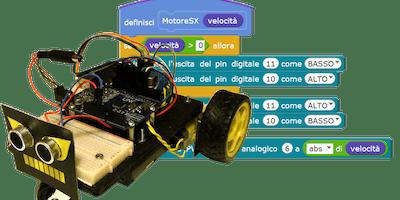 CoderDojo@Pantigliate - ICS Falcone-Borsellino 16/11/2019 - Modulo robotica