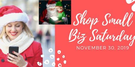 Shop Small Biz Saturday Vendor Event tickets
