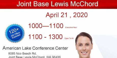 Joint Base Lewis McChord - April 20 Veteran Job Fair tickets