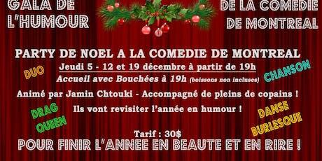 Le gala de l'humour de la Comédie ! billets