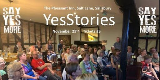 YesStories - Salisbury - 25th Nov 2019