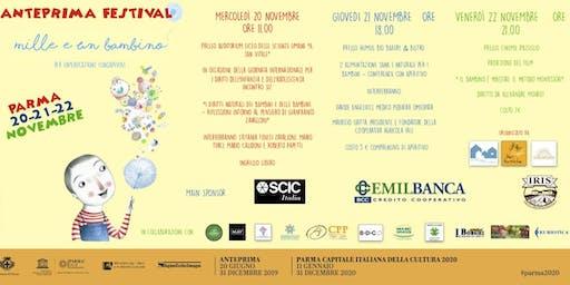 ANTEPRIMA FESTIVAL MILLEUNBAMBINO - Mercoledi 20 novembre ore 11