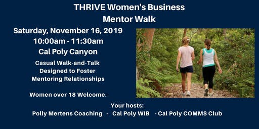 THRIVE Mentor Walk