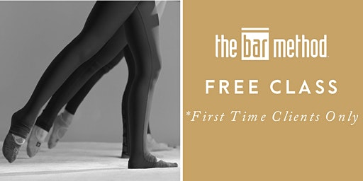 Bar Method Free Class for *First Time Clients ONLY*