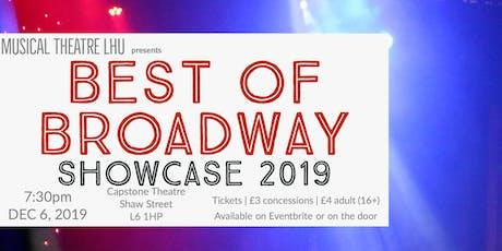 Best of Broadway Showcase 2019 tickets