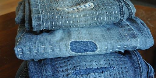 Visible Mending - Patching, Darning, and Clothing Repair