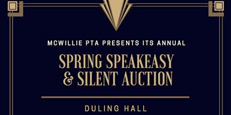 Annual Spring Speakeasy & Silent Auction tickets