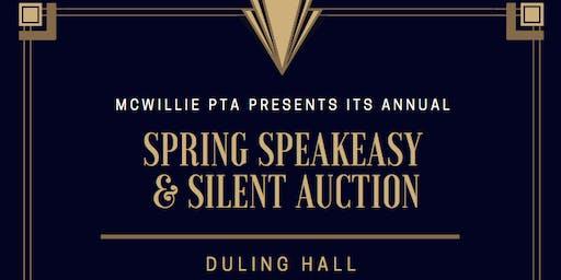 Annual Spring Speakeasy & Silent Auction