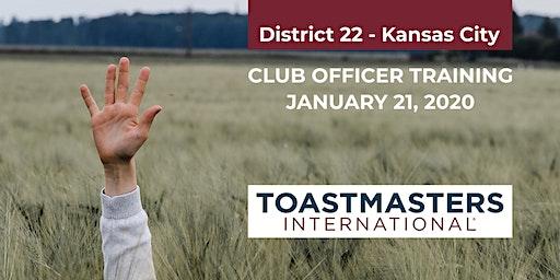 Club Officer Training, Kansas City (Independence)