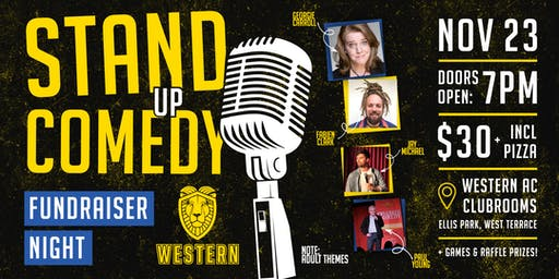 Western AC - Stand Up Comedy Fundraiser Night