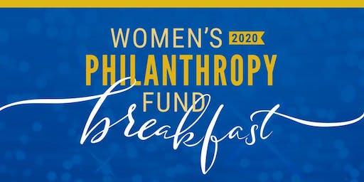 2020 Women's Philanthropy Fund Breakfast