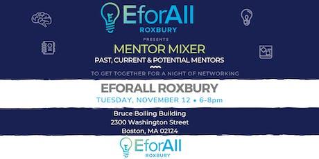 EforAll Roxbury Mentor Mixer & Orientation tickets